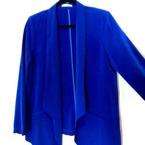 Electric Blue Oversized Blazer